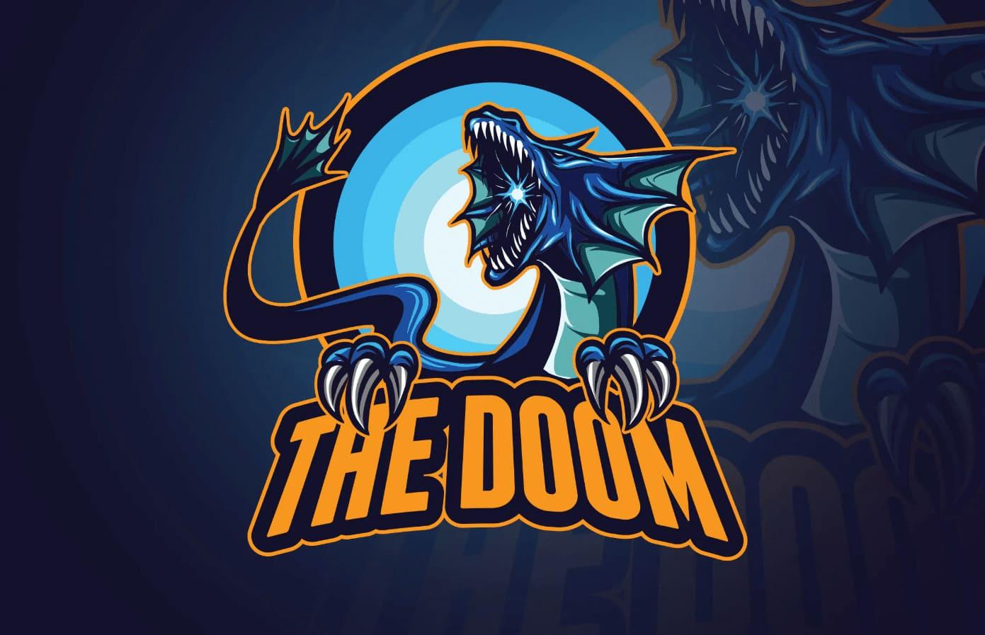 mẫu logo game