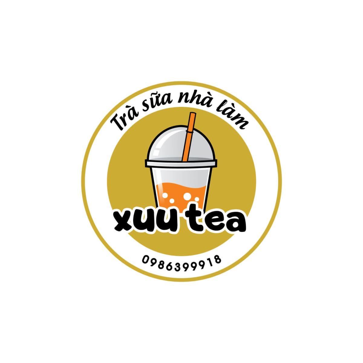 mẫu logo quán trà sữa