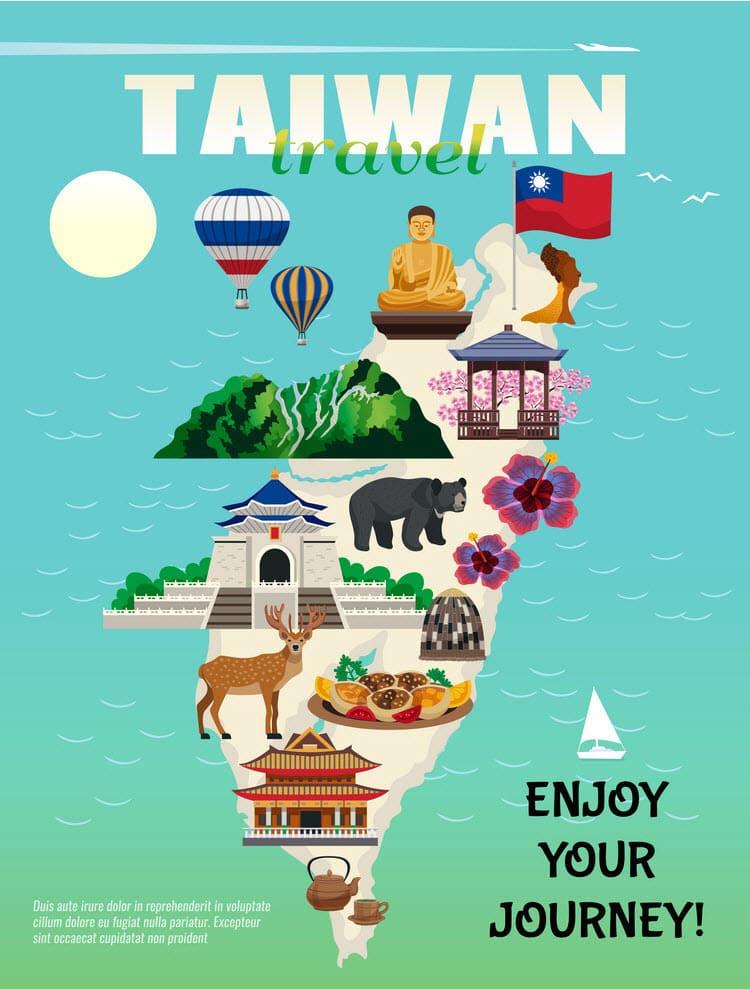 mẫu poster du lịch