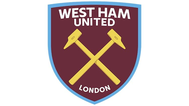 mẫu thiết kế logo đội bóng west ham