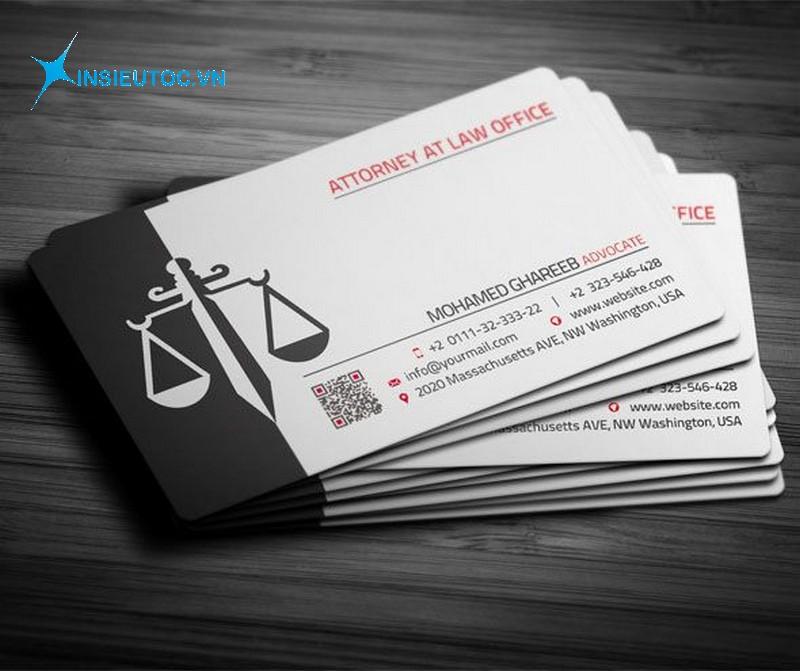 name card giấy briston