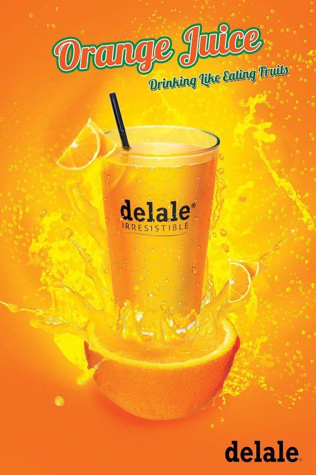poster quảng cáo đồ uống