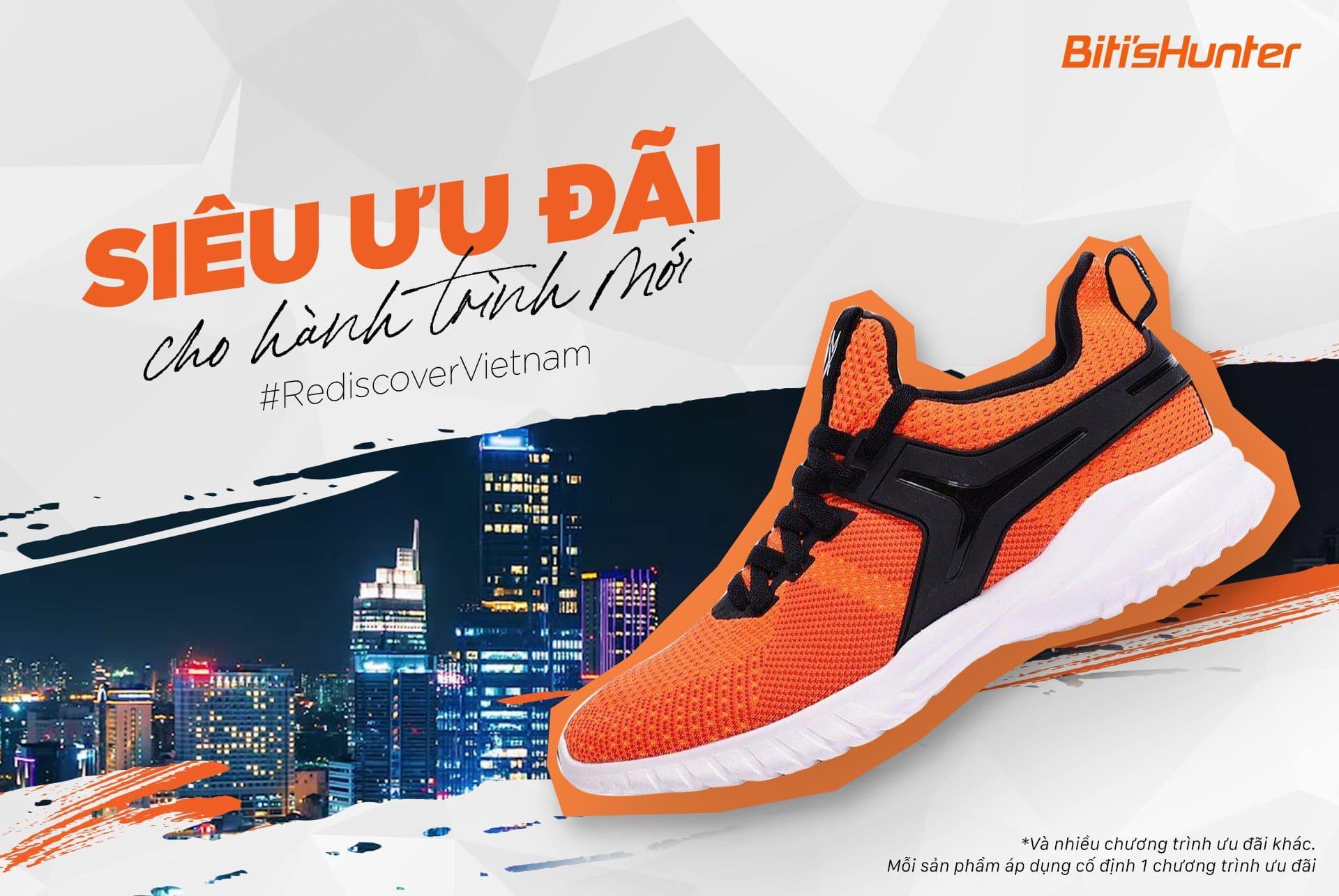 poster quảng cáo giày bitis
