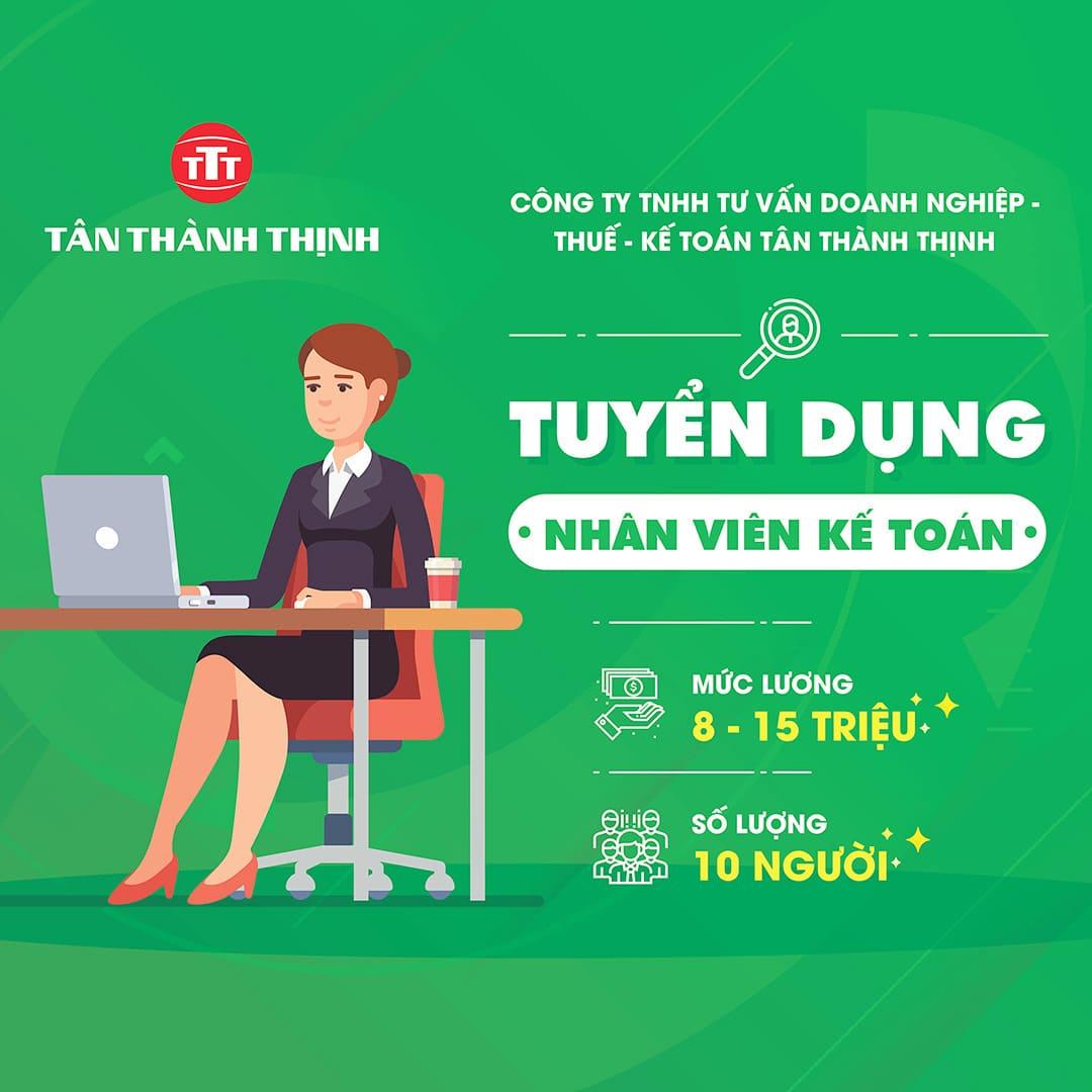 poster tuyển dụng nhân viên kế toán