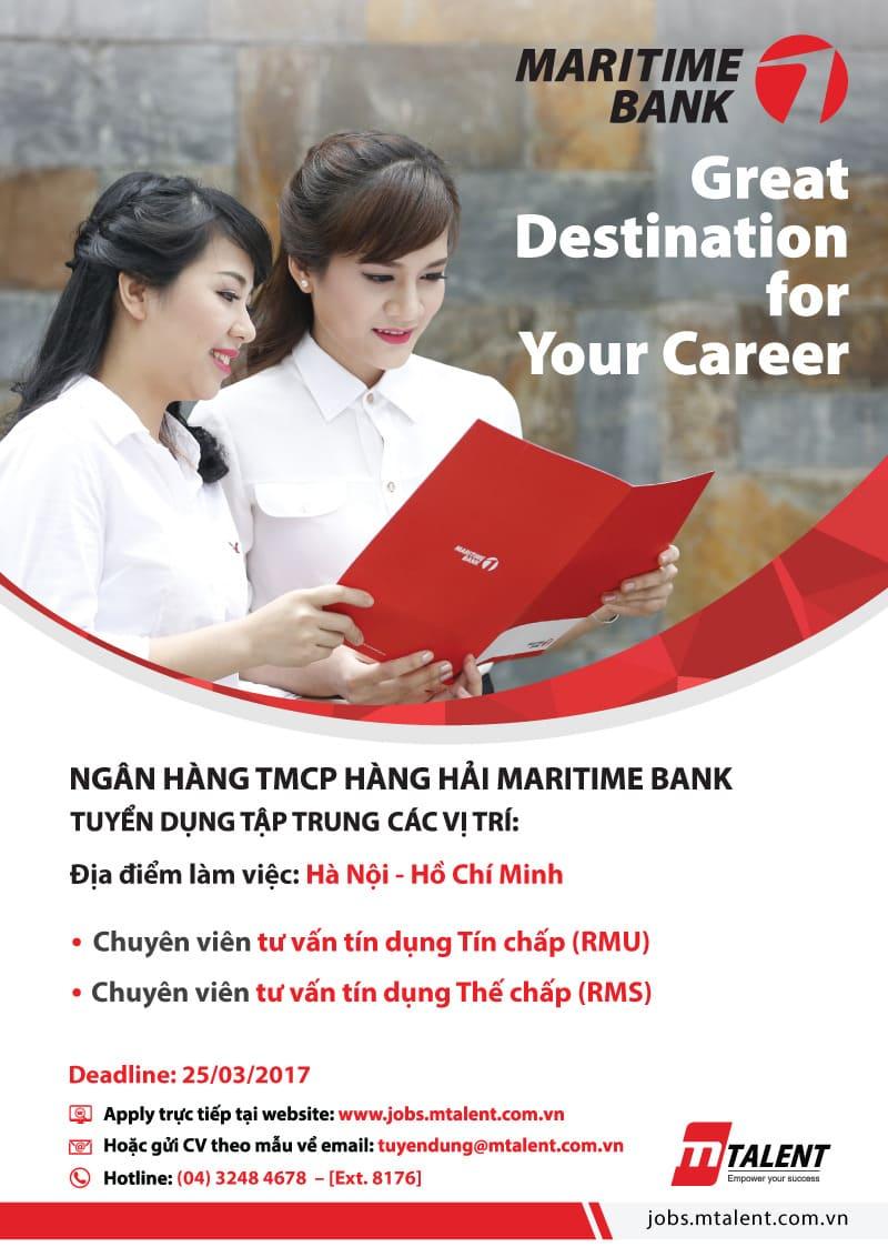 poster tuyển dụng nhân viên ngân hàng