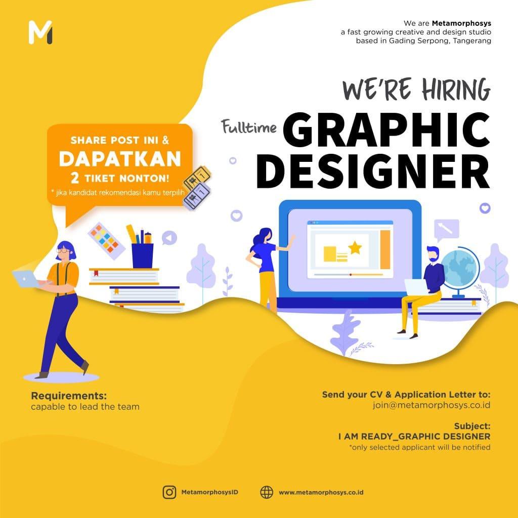 poster tuyển dụng nhân viên thiết kế