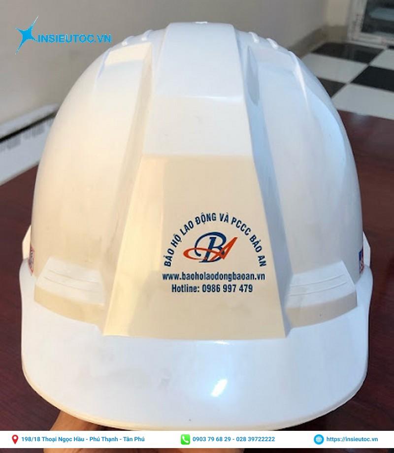 mẫu logo decal dán nón bảo hộ