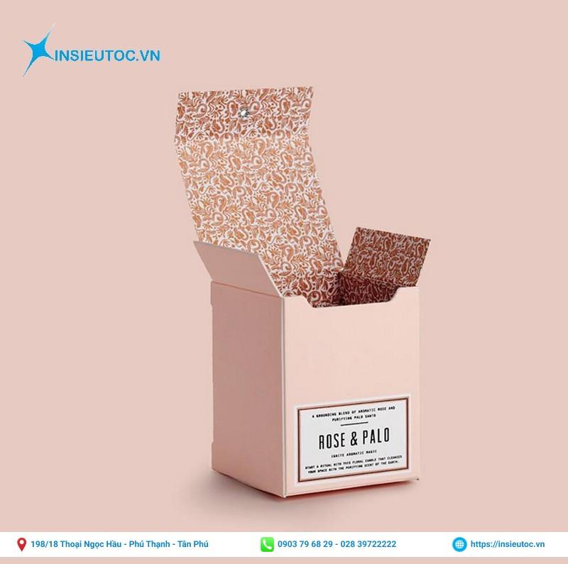 Nhãn decal dán hộp giấy giao hàng