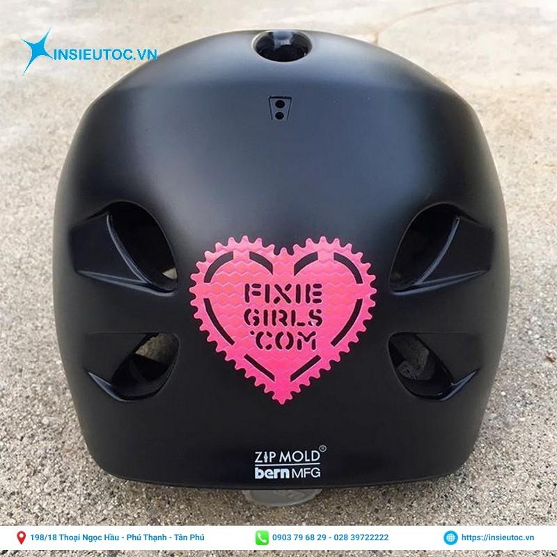 sticker decal dán mũ bảo hiểm