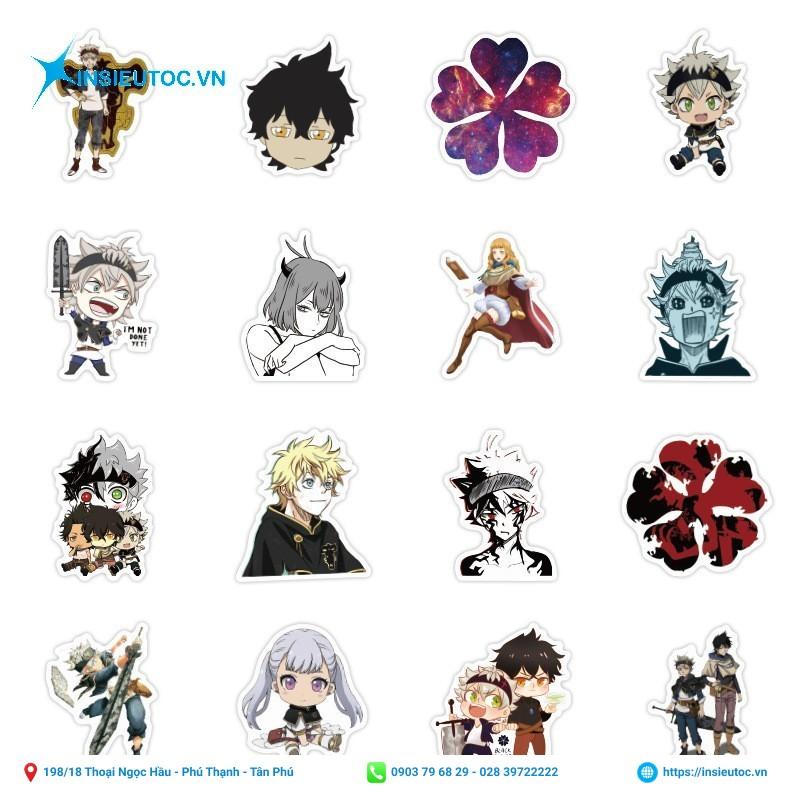 sticker nhân vật anime
