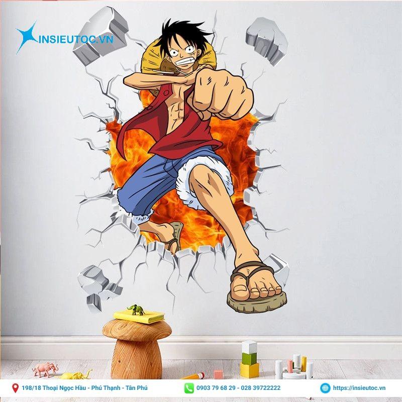 decal trang trí dán tường nhân vật hoạt hình