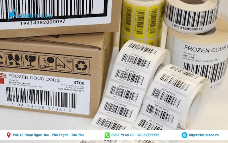 nhãn mã vạch dán thùng carton
