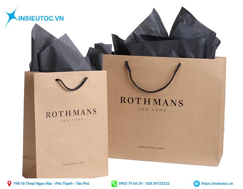 Túi giấy cao cấp giúp bảo vệ môi trường