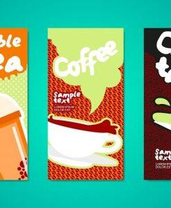tờ rơi trà sữa đẹp mắt bubble tea