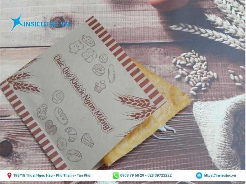 Túi giấy tam giác đựng bánh mì Thổ Nhĩ Kỳ
