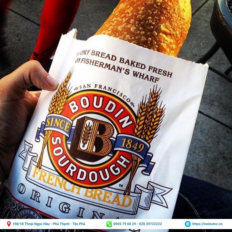 bao bì bánh mì in nổi bật đẹp
