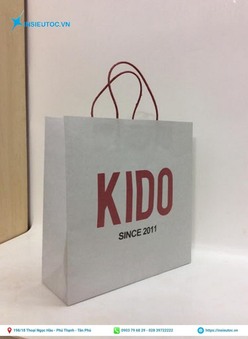 Túi giấy Kraft thời trang KIDO