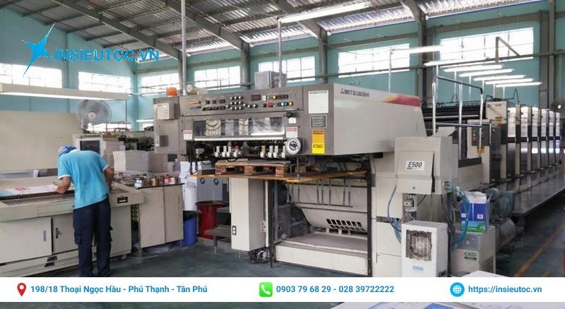 Xưởng in ấn của In Siêu Tốc