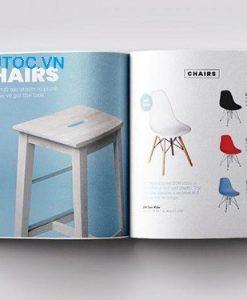 Mẫu catalogue nội thất ấn tượng