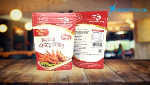 các mẫu nhãn mác thực phẩm