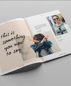 Mẫu cataloge về ngành thời trang