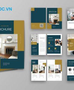 Mẫu catalogue nội thất phối màu đẹp