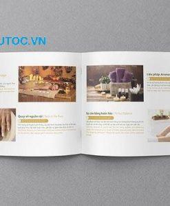 Mẫu Catalogue Spa