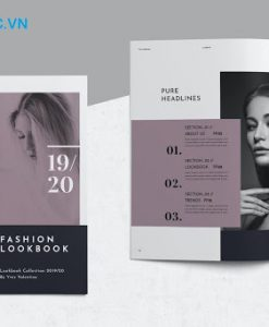 Mẫu catalogue thời trang đẹp