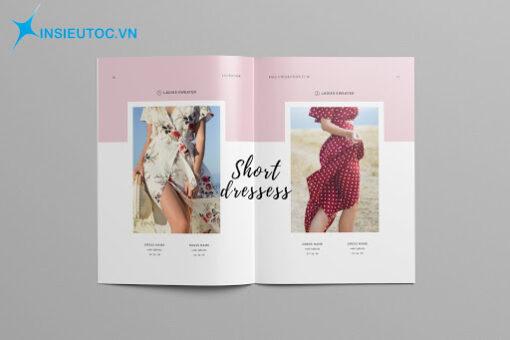 In catalogue thiết kế bố cục độc đáo