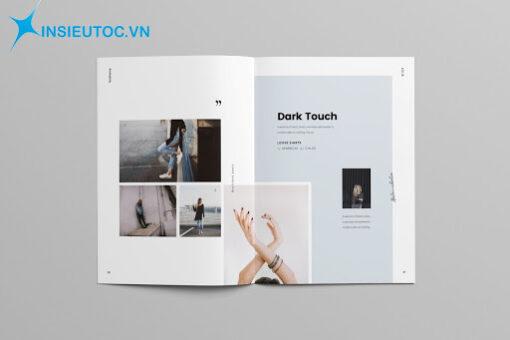 In catalogue lĩnh vực thời trang