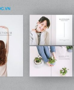 Mẫu Catalogue về lĩnh vực thời trang đẹp