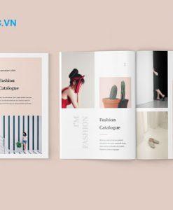 In cataloge thời trang cao cấp