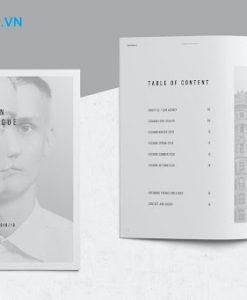 Sử dụng chất liệu giấy cao cấp để in catalogue