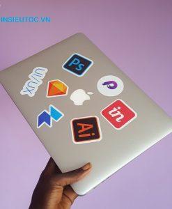 logo dán laptop chất lượng sắc nét