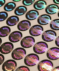 Decal 7 màu dùng làm tem chống hàng giả