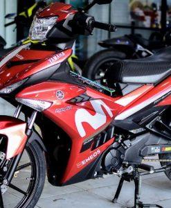 Decal chống nước dán xe máy tăng phần thu hút