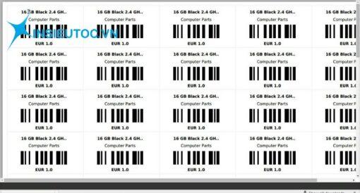 Decal in mã vạch cho phép người mua hàng kiểm tra xuất xứ sản phẩm