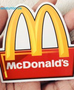 mẫu logo MCDonald's đẹp mắt