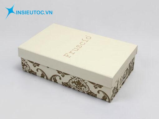 in hộp carton đựng giày