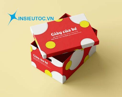 hộp giấy carton đựng giày đẹp
