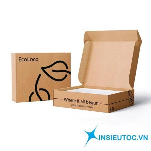 hộp đựng thức ăn giấy kraft