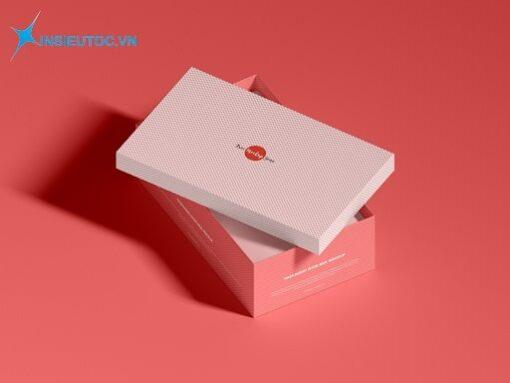 Hộp giấy đựng giày màu sắc xinh xắn