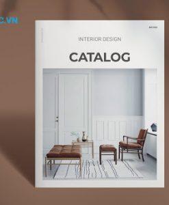 In catalogue cần thiết kế bố cục rõ ràng
