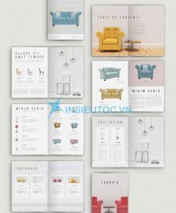 Nhận in và hỗ trợ thiết kế cataloge