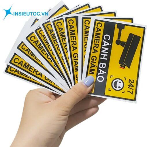 Decal sticker phù hợp với từng sản phẩm