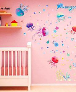 Decal chống nước trang trí nội thất