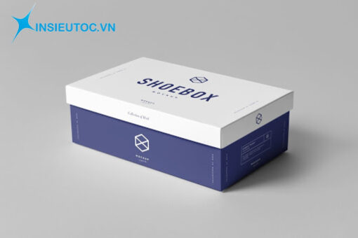 In hộp giấy đựng giày giá rẻ - chất lượng - sang trọng