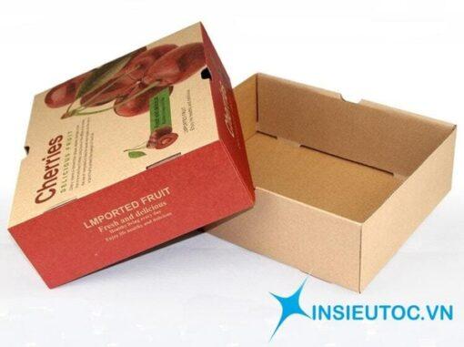 vỏ hộp giấy kraft