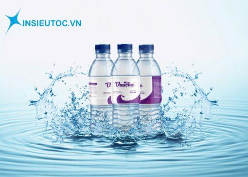 In nhãn chai chống nước tốt