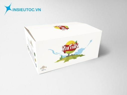 In hộp giấy carton chất lượng - giá tốt
